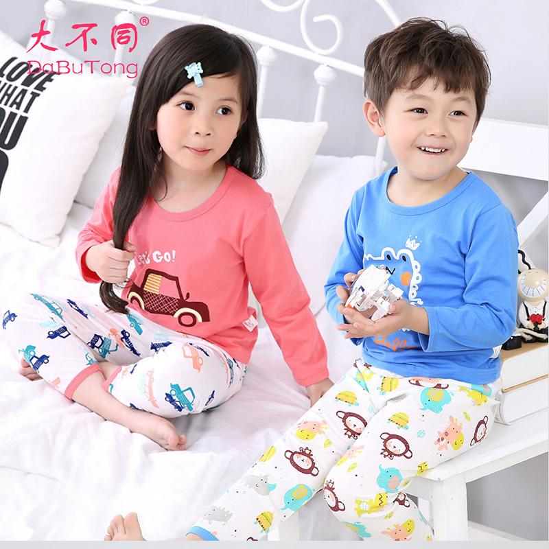 大不同儿童纯棉睡衣薄款内衣