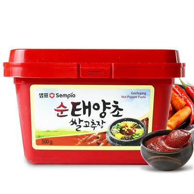 韩国膳府进口低脂0脂肪韩式辣酱石锅拌饭酱下饭酱太阳草辣椒酱料