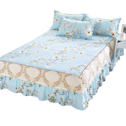 【伊心爱】韩式公主床笠床裙床罩床单