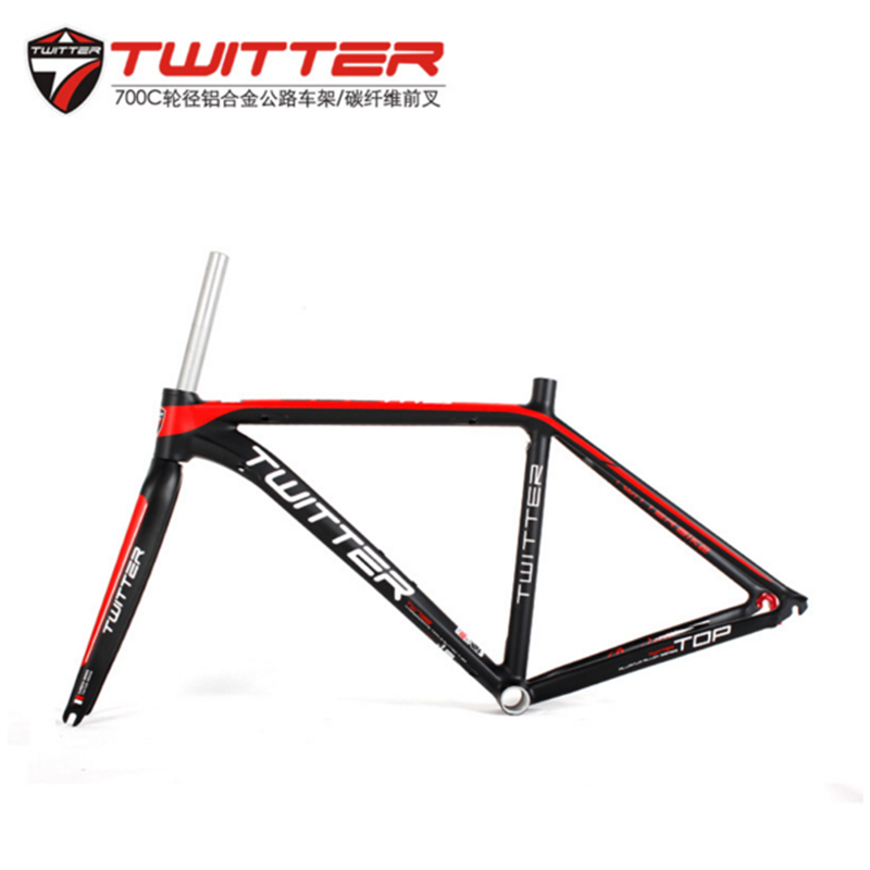 USD 405.27] Road car frame 700C aluminum alloy bicycle frame with ...