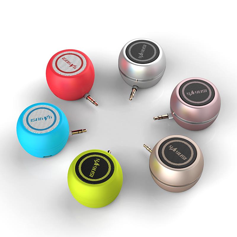 手机扩音器音响迷你直插式小音箱外接扬声器通用外放喇叭电脑便携式随身播放器外置小型平板声音放大器扩声