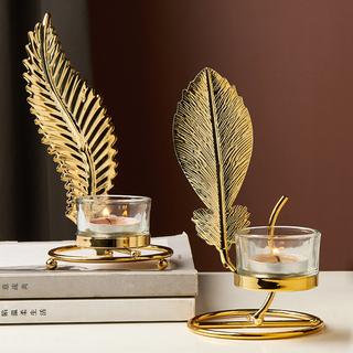 Нордический свет экстравагантный романтический золотой железо небольшой подсвечник западный еда домой обеденный стол свеча свет ночь еда металл 焟 подсвечник украшение, цена 229 руб