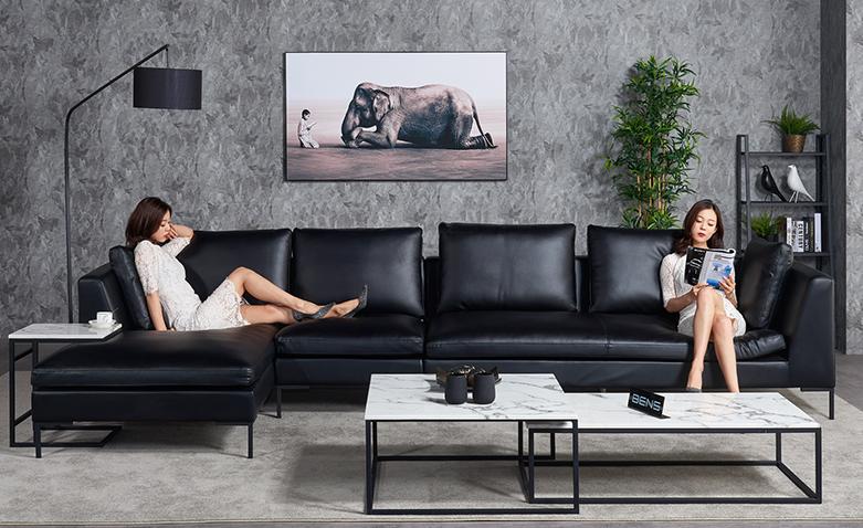 休闲舒适沙发,享受慵懒下午时光