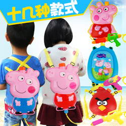 Children water gun toy girl pull-up backpack water gun baby summer beach water spray water gun boy