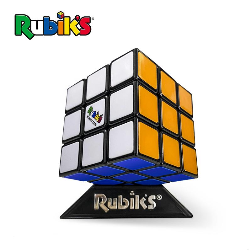 rubiks鲁比克魔方三阶套装 初学者儿童益智顺滑解压玩具 科教礼物