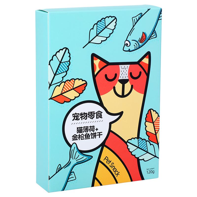 【淘牧】猫用小鱼饼干磨牙洁齿120g