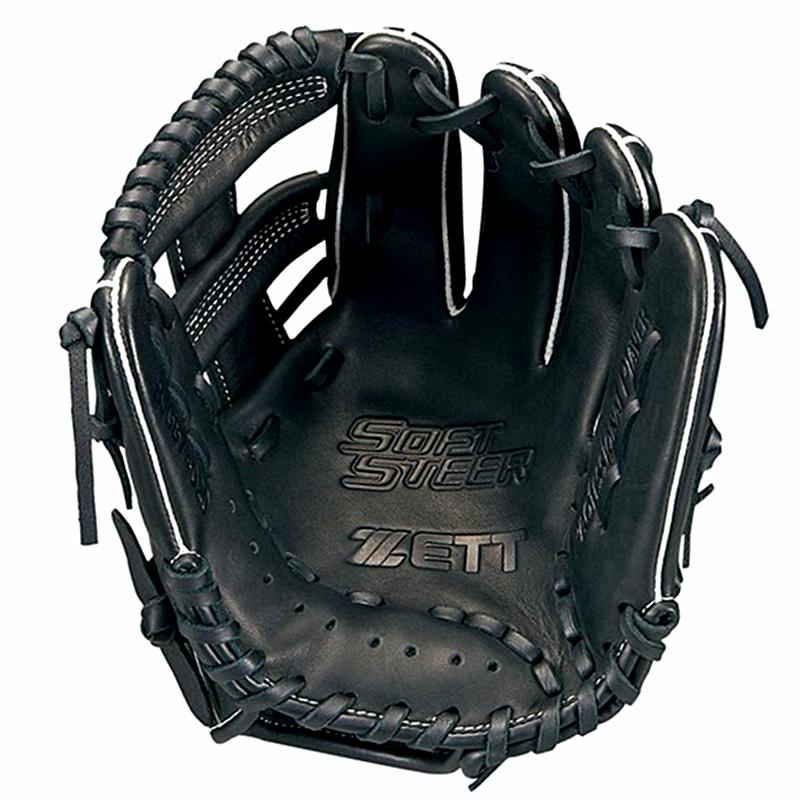 現貨快出❥日本捷多ZETT SOFT STEER 少年S號全牛皮棒球手套
