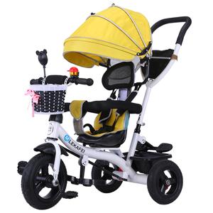 儿童三轮车脚踏车手推车自行车童车