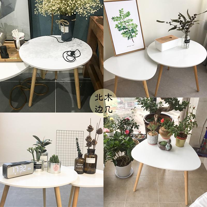 нордический маленький столик диван стороны несколько стол простой