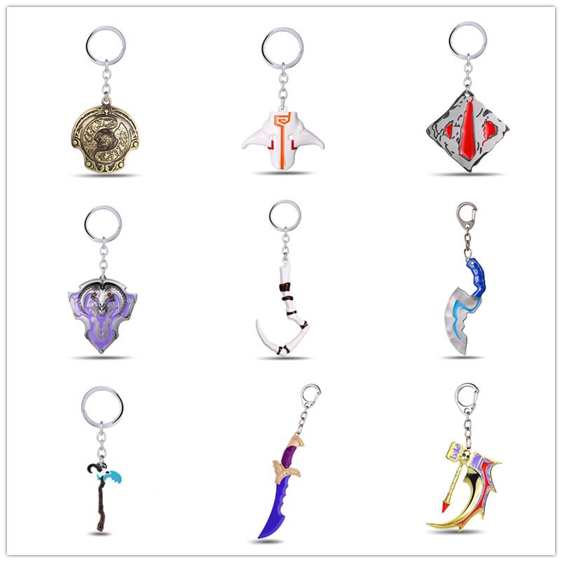 刀塔dota2挂件项链不朽龙钩屠夫剑圣武器手办模型周边饰品钥匙扣