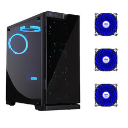 Patriot Hyun Shadow Full Side Through Desktop Computer Dust-proof Mute Main Box DIY Game Water-cooled ATX Main Box