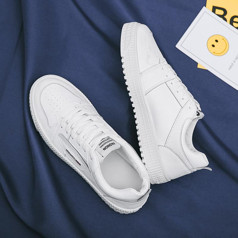 鞋子鞋板鞋男鞋白色2019新款潮鞋秋冬v鞋子小白鞋男韩版百塔男士男