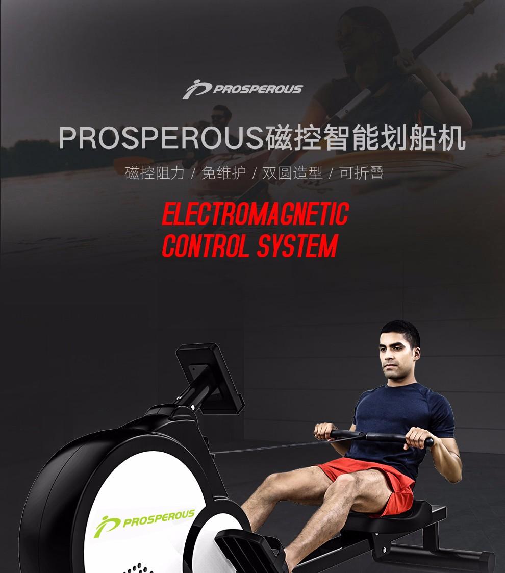 出口欧美 PROSPEROUS 可折叠 智趣版磁控划船机 P109 天猫优惠券折后¥1119包邮(¥1519-400)