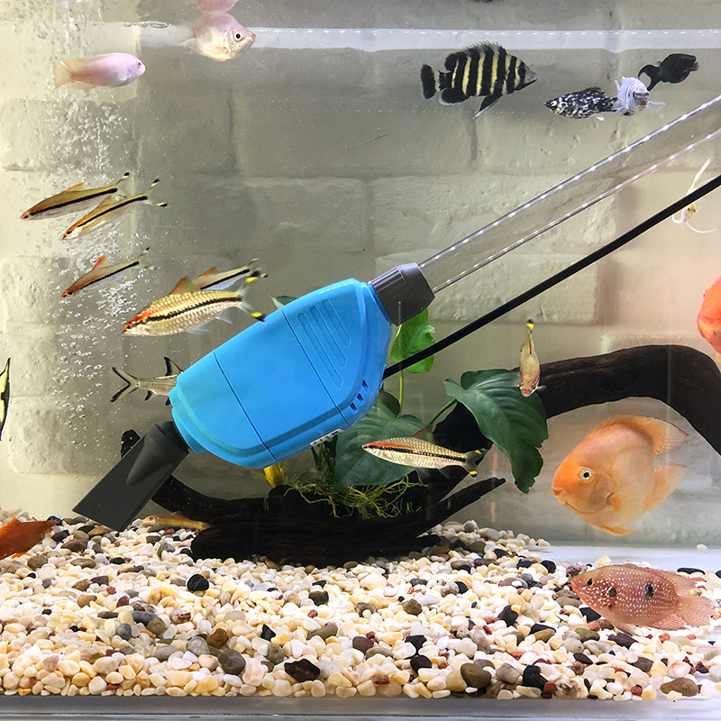 Usd 18 17 Fish Tank Water Changer Electric Suction Aquarium Automatic Water Washing Sand Suck Fish Manure To Clean The Fish Then Suck The Water Pump Wholesale From China Online Shopping