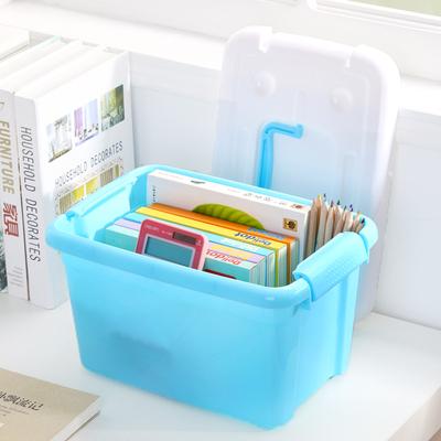 特大号宿舍床底塑料盒储蓄小盒子储物柜整理箱衣服箱子玩具收纳筐