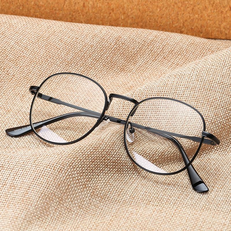 Glasses frame female network red Korean version of the tide retro ...
