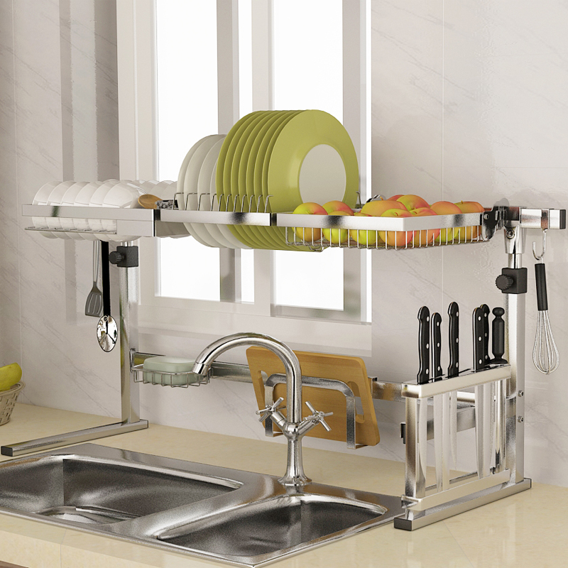Usd 18 43 304 Stainless Steel Bowl Frame Sink Leachate Rack Kitchen Rack Storage Rack Sink To Dry Dishes Filter Water Shelf Wholesale From China Online Shopping Buy Asian Products Online