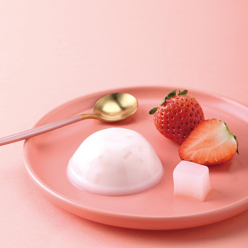 【主播推薦】貝兒強酸奶果肉果凍1100g整箱 布丁果凍低糖零食