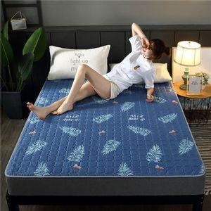 2020新款床垫四季可水洗床垫子榻榻米可折叠1.5米单双人学生宿38