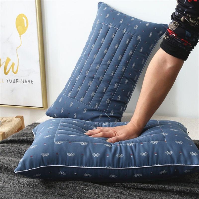 荞麦枕头一对装成人护颈椎枕∞芯单人学生∴双人两用枕一只装家用枕头