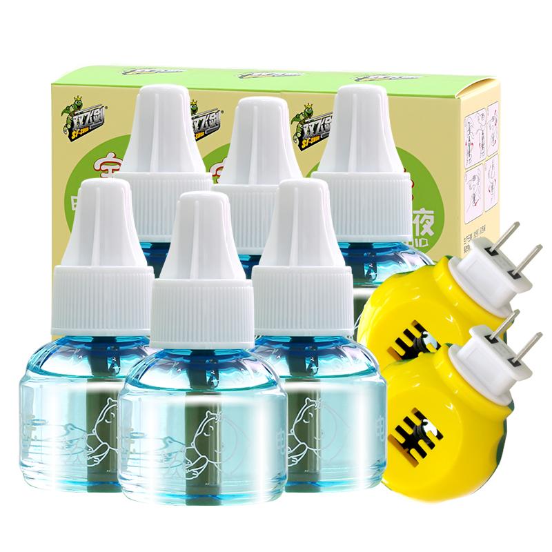 双飞剑蚊香液无味宝宝驱蚊防蚊婴儿孕妇家用插电无味电热蚊香器