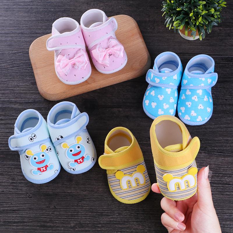 Musim semi dan musim panas musim gugur 0-3-6 bulan bayi yang baru lahir  sepatu pria dan wanita sepatu bayi balita tidak mampu sepatu lembut bawah 0- 1 sandal 484d31b999