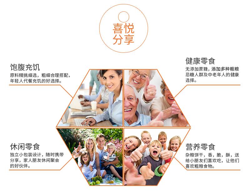 中膳堂 五谷杂粮饼干 无糖 糖尿病人可食用 4.5斤 图14