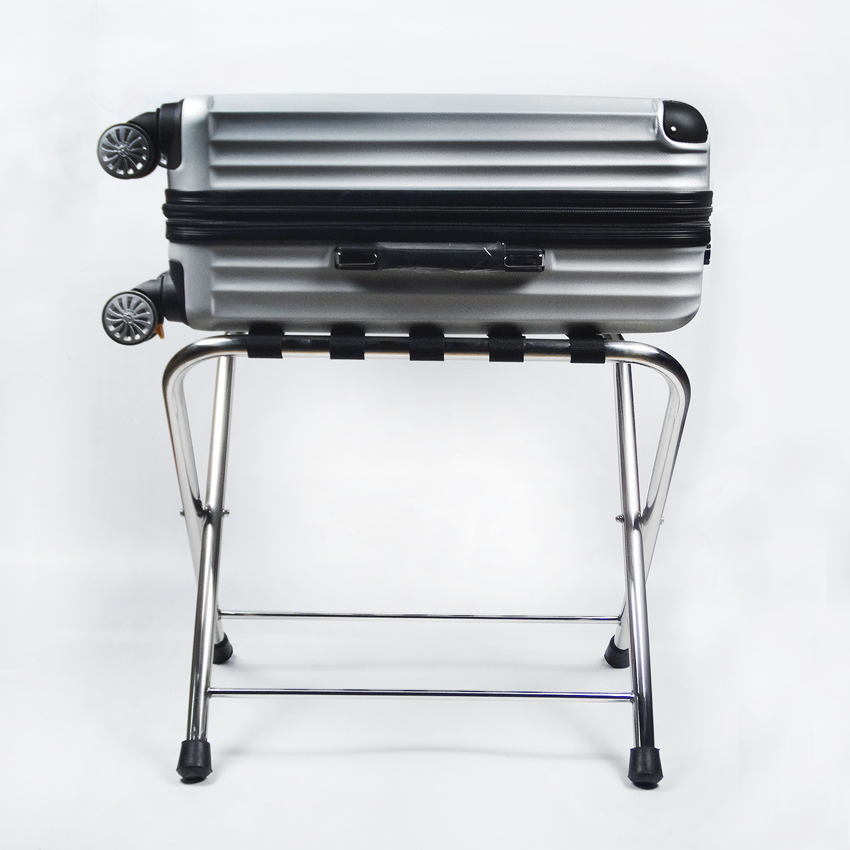 hotel luggage rack. Hotel Luggage Rack Stainless Steel Room Folding Clothing Tray Home Office