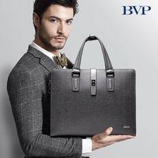 BVP男包手提包商务真皮公文包