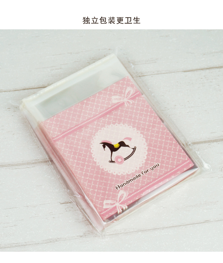 雪花酥手工奶枣小饼干牛轧糖果自封粘自封袋耶诞食品礼品包装袋子详细照片