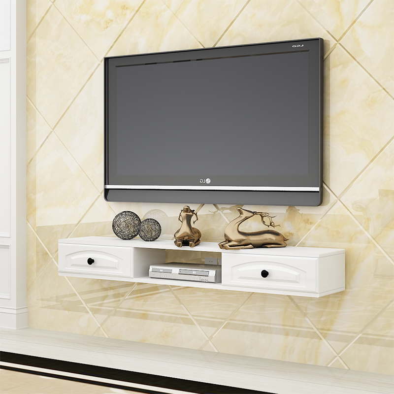 Wall Hanging Tv Cabinet Background Film And Television Modern Simple Living Room Bedroom