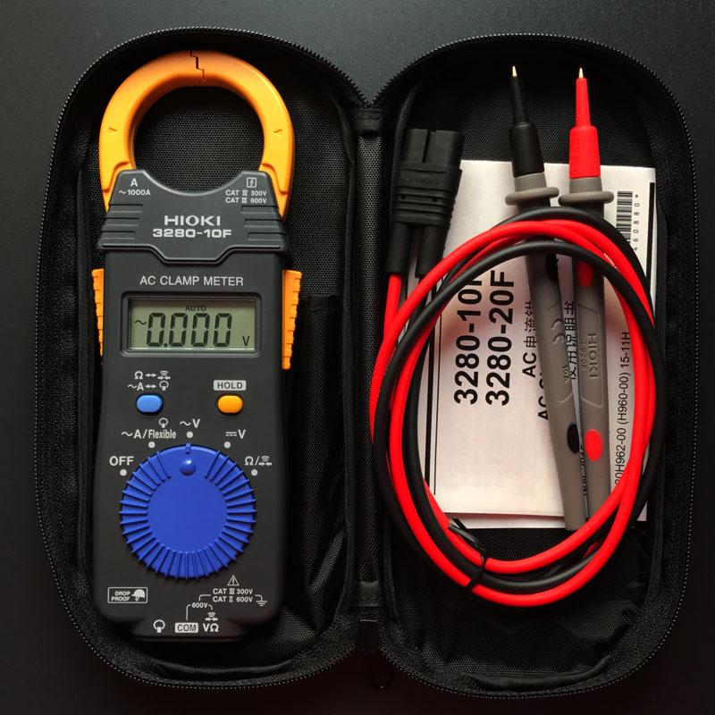 Monika 3280 Digital Clamp Meter : Japan hioki digital clamp multimeter f type