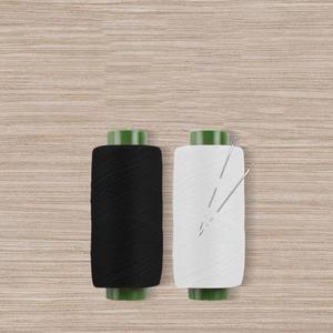 家用涤纶线黑线白线针线套装