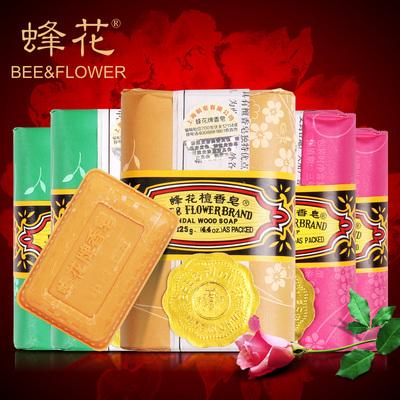 蜂花【6块*125g】玫瑰茉莉檀香皂