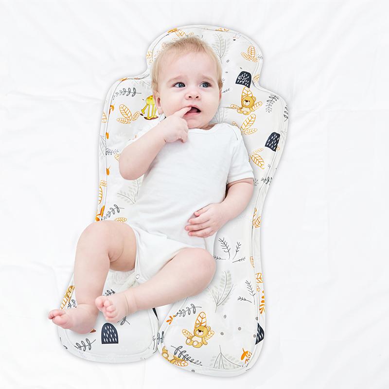 德国婴儿冰珠凉席新生儿童宝宝车推车安全座椅冰垫凉垫子夏通用