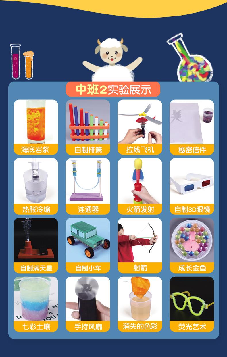 儿童趣味科学小实验套装小学生手工器材料製作幼儿园玩具详细照片
