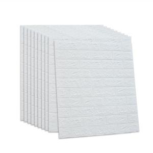 壁纸自粘3d立体护墙贴砖纹墙纸儿童防撞卧室背景装饰贴自贴软包墙
