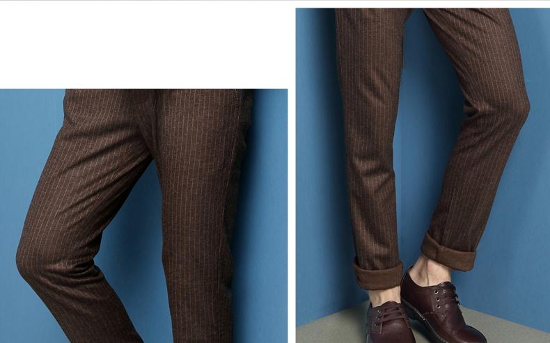 奥康男鞋 真皮休闲皮鞋 男士系带商务休闲鞋男鞋透气低帮鞋高清展示图 11