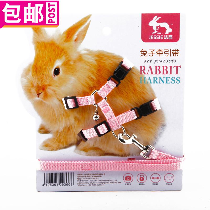 じ小時光დ JESSIE/潔西兔子牽引帶/外帶繩/溜兔繩 多款可選 包郵多省DH85