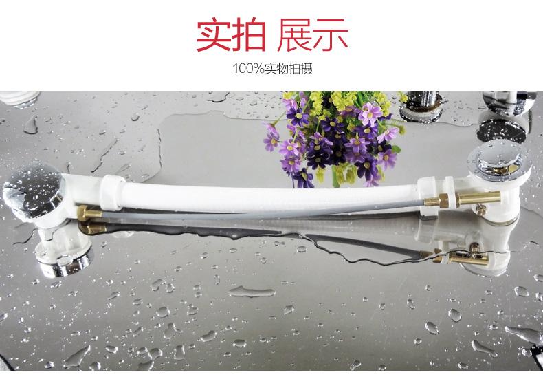 卫浴厂家_酒店工程浴缸去水器KF-112|浴缸塑料下水器系列|卫浴下水器