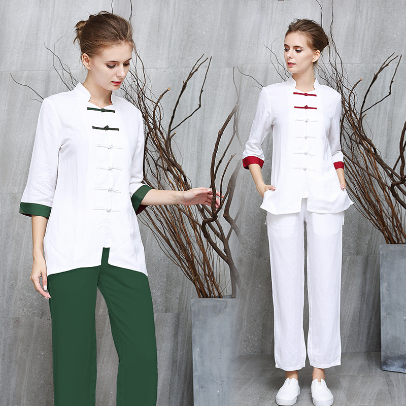 Usd 5002 Chinese Traditional Health Technician Clothes Female