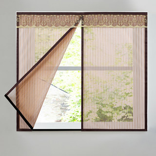 Mosquito screen network self-inquiry magnet self-viscous magnet window screen home mesh door curtain sand window invisible windows