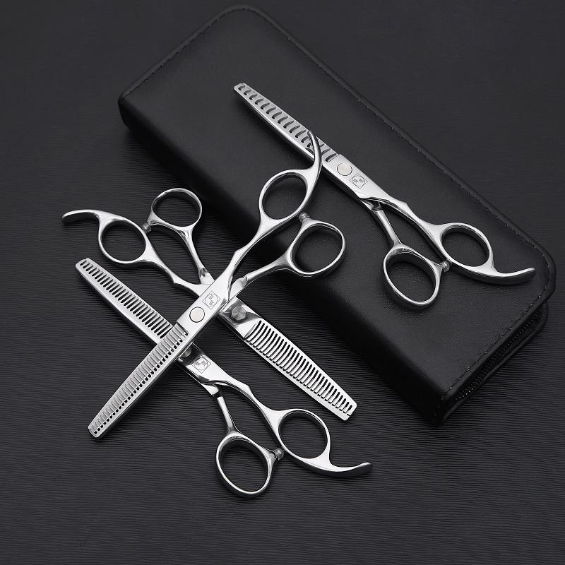鬼荒美发牙剪美发剪刀发型师专用打薄剪理发牙剪无痕牙剪鱼骨剪