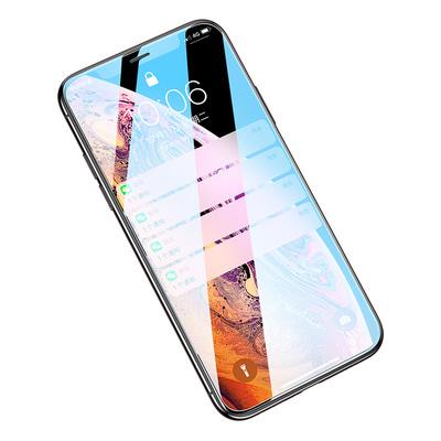 苹果x钢化膜iphonex全屏xs原装xr贴膜8p七xsmax高清iphone保护7p防指纹八6s覆盖6p半六plus蓝光6/7/8手机膜