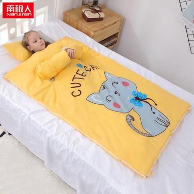 婴儿睡袋儿童宝宝防蹬被子秋冬款加厚冬季幼儿中大童防踢被子神器