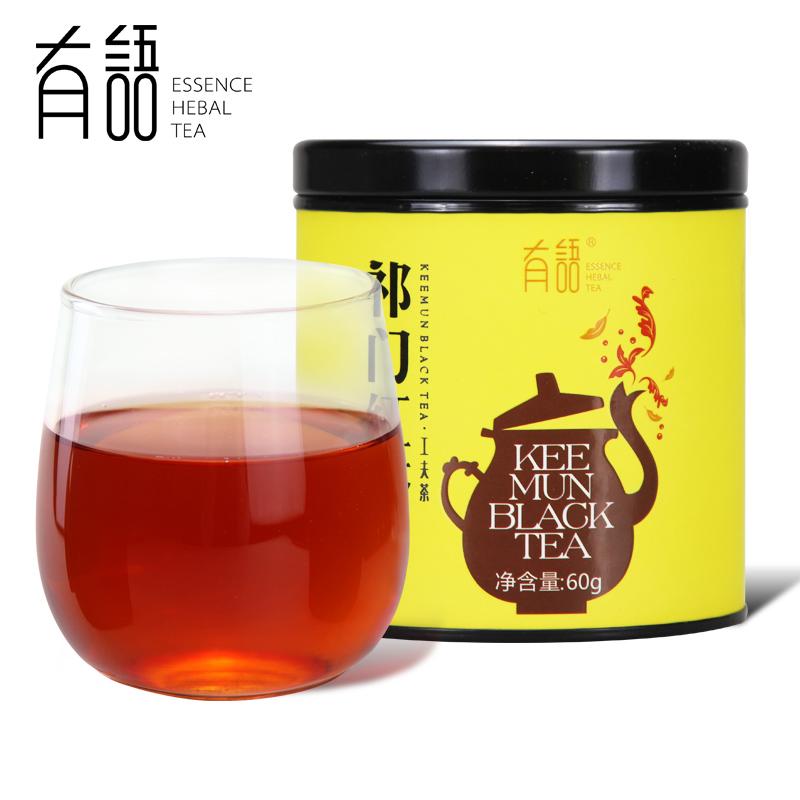 有语祁门红茶茶叶60g功夫红茶春茶茶叶红茶祁红碎红茶