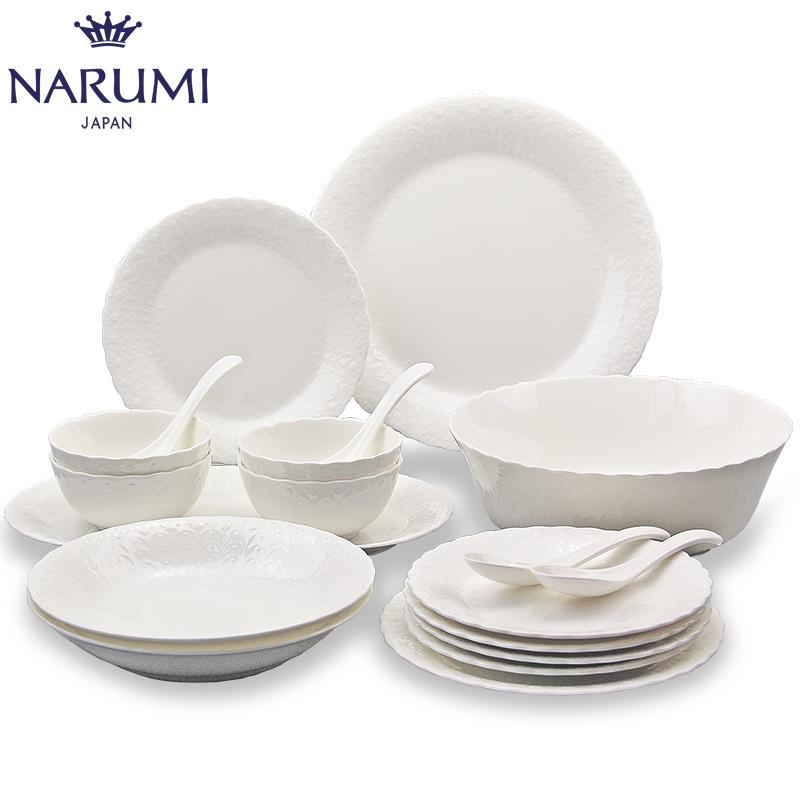 Main figure source Autonomous real shot figure  sc 1 st  YoYCart & Japan NARUMI Narumi Silky White 4 person lunch set Cutlery set bone ...