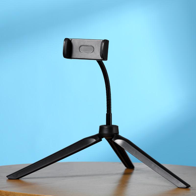 手机直播支架三脚架三角架夹补光灯户外拍照设备全套懒人支撑架