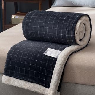Зимний уплотнённый волосы одеяло одеяло молоко коралловый фланель крышка одеяло лист диван одеяла офис комната вздремнуть одеяло, цена 784 руб