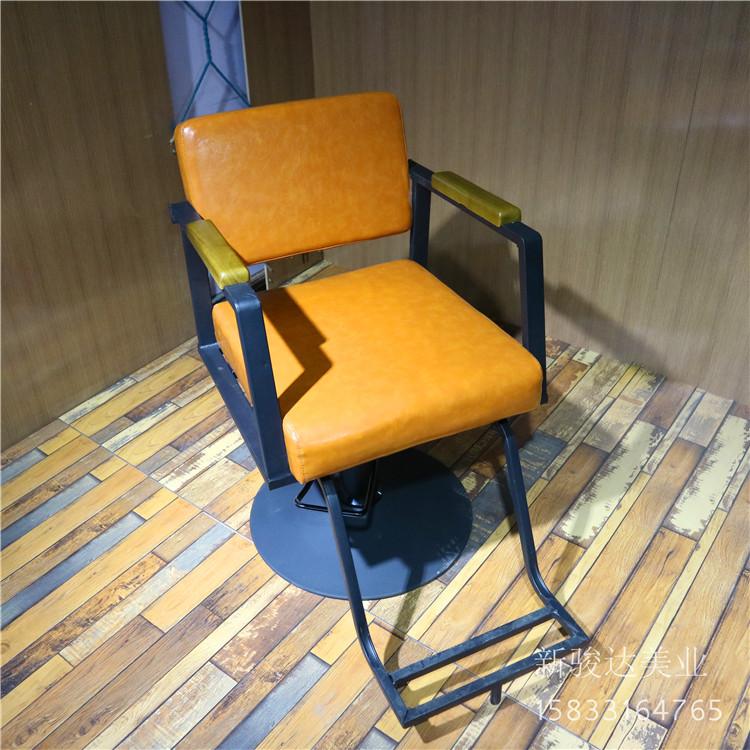 Продаётся напрямую с завода японский новый стрижка магазин стул железо парикмахерское дело стул салон специальный ретро стул шампунь кровать